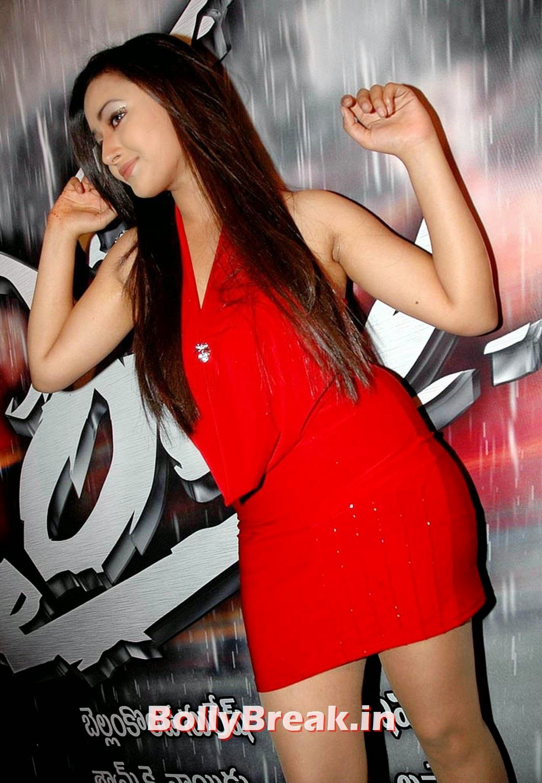 , Shweta Basu Prasad Pics in Red Dress
