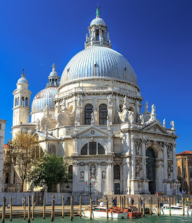 The magnificent Basilica of Santa Maria della Salute
