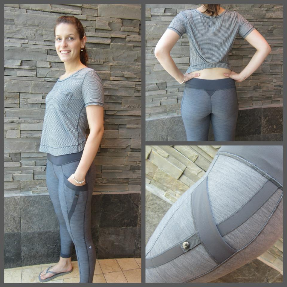 5836fa898b8 New Calm SS Tee. Shown with Verve pants on top and Warrior pant on the  bottom.