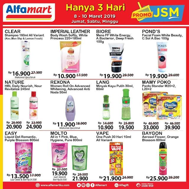 #Alfamart - #Promo #Katalog JSM Periode 08 -10 Maret 2019