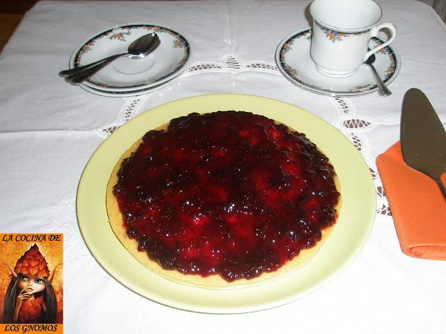 quark-blueberry-tart, tarta-de-quark-con-arandanos