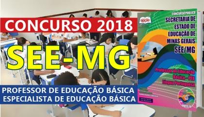 Concurso SEE-MG 2018 Professor