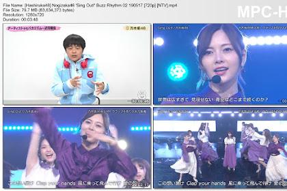 Nogizaka46 'Sing Out!' Buzz Rhythm 02 190517 (NTV)