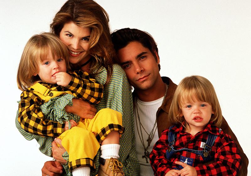 Jesse, Rebecca, Nicky y Alex Katsopolis, de Padres Forzosos
