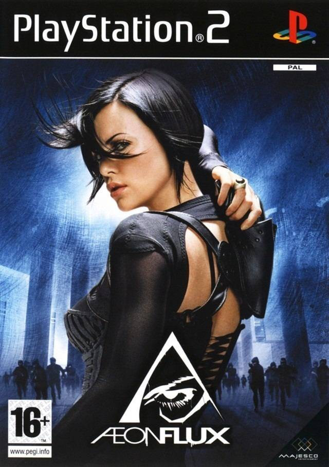 Aeon Flux PAL PS2