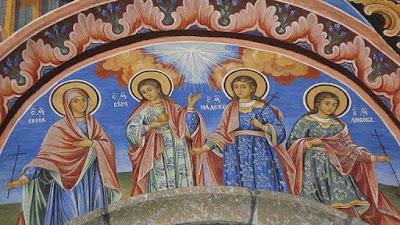 Почитаме св. мъченици София, Вяра, Надежда и Любов