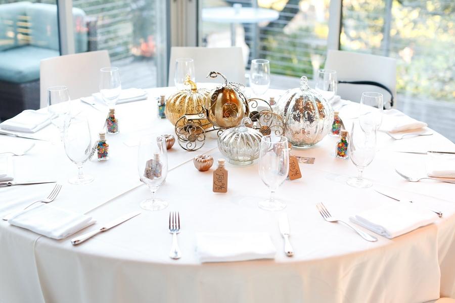 centros de mesa para boda inspirados en Disney