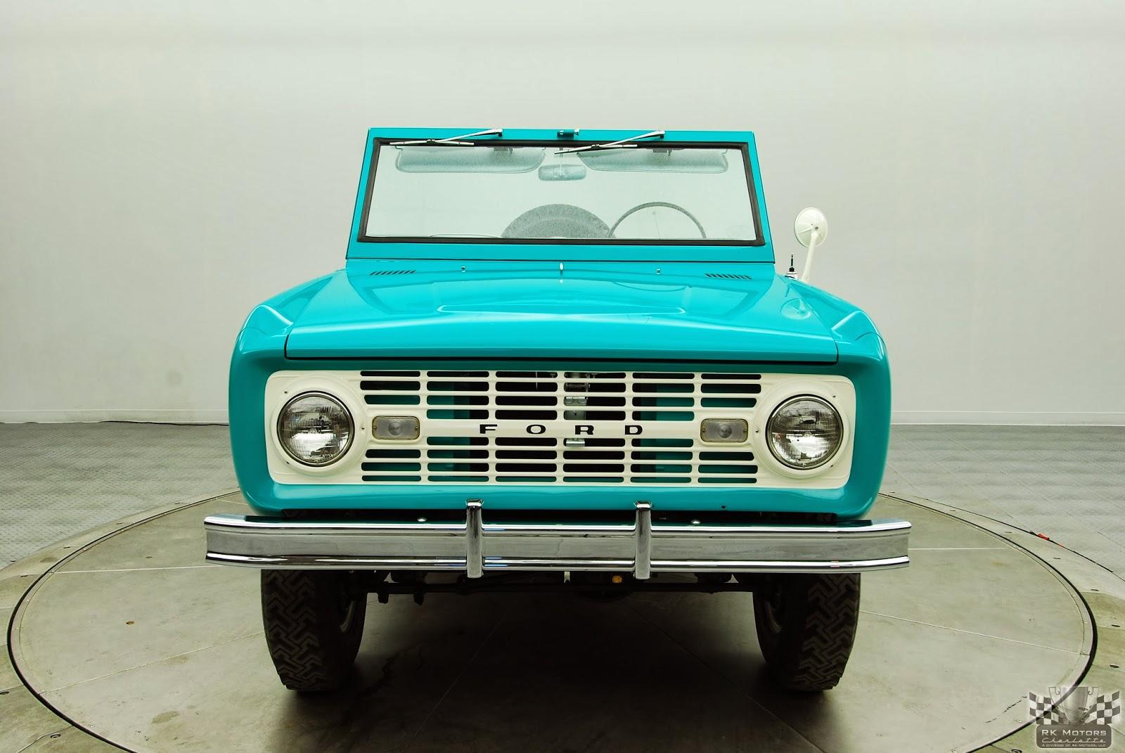 FAB WHEELS DIGEST (F W D ): Ford 1st Generation Bronco U13