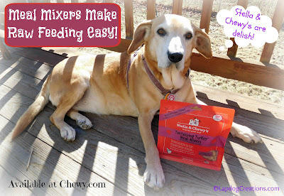 Stella & Chewy's Meal Mixers make raw feeding easy and convenient! #dogfood #rawdogfood #Chewy #ChewyInfluencer #LapdogCreations ©LapdogCreations