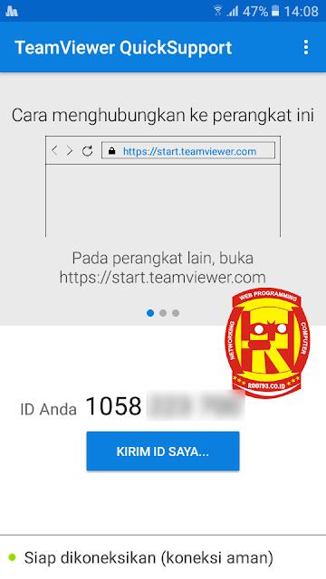 ID untuk akses oleh perangkat lain
