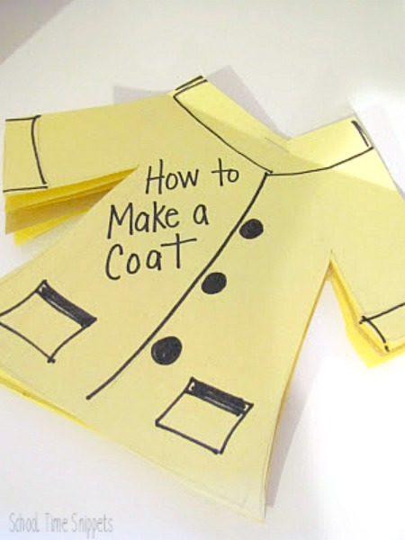 A New Coat for Anna Sequencing Activity