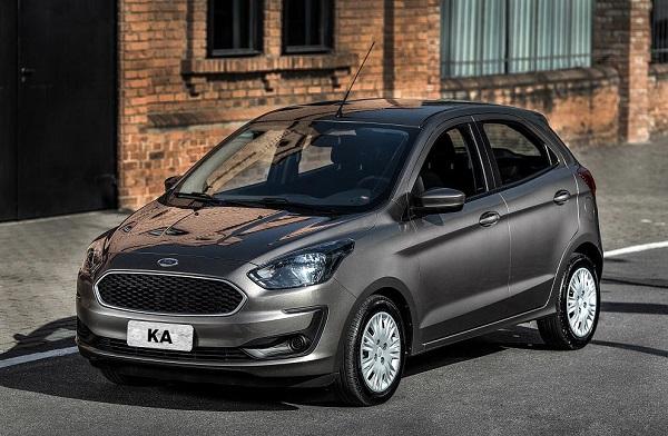 Ficha Técnica Ford Ka 5 Puertas S (2019)
