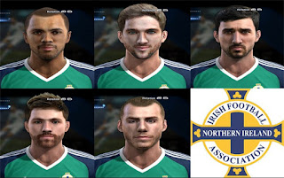 Mini Facepack Irlanda del Norte Pes 2013 By Bradpit62