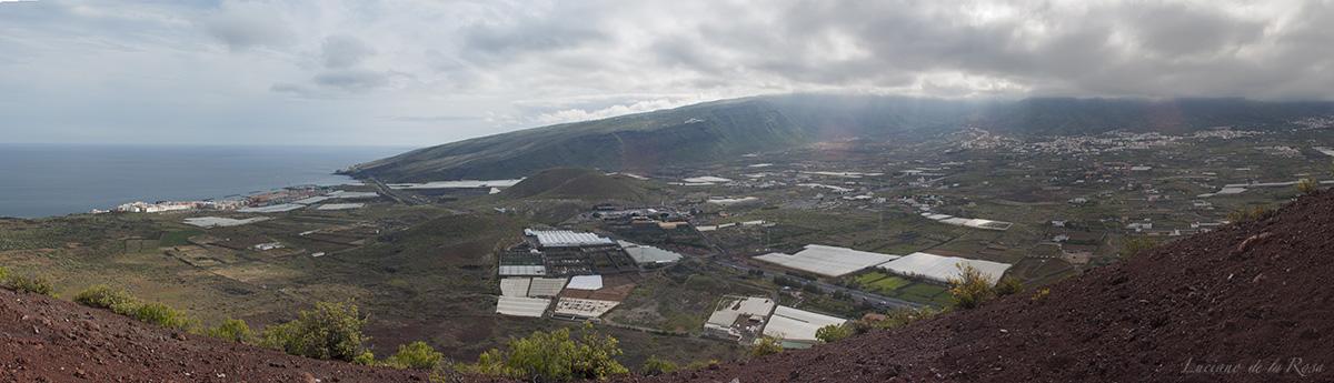 Vistas desde la cima de Montaña Grande hacia el suroeste