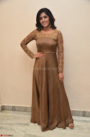 Eesha looks super cute in Beig Anarkali Dress at Maya Mall pre release function ~ Celebrities Exclusive Galleries 014.JPG