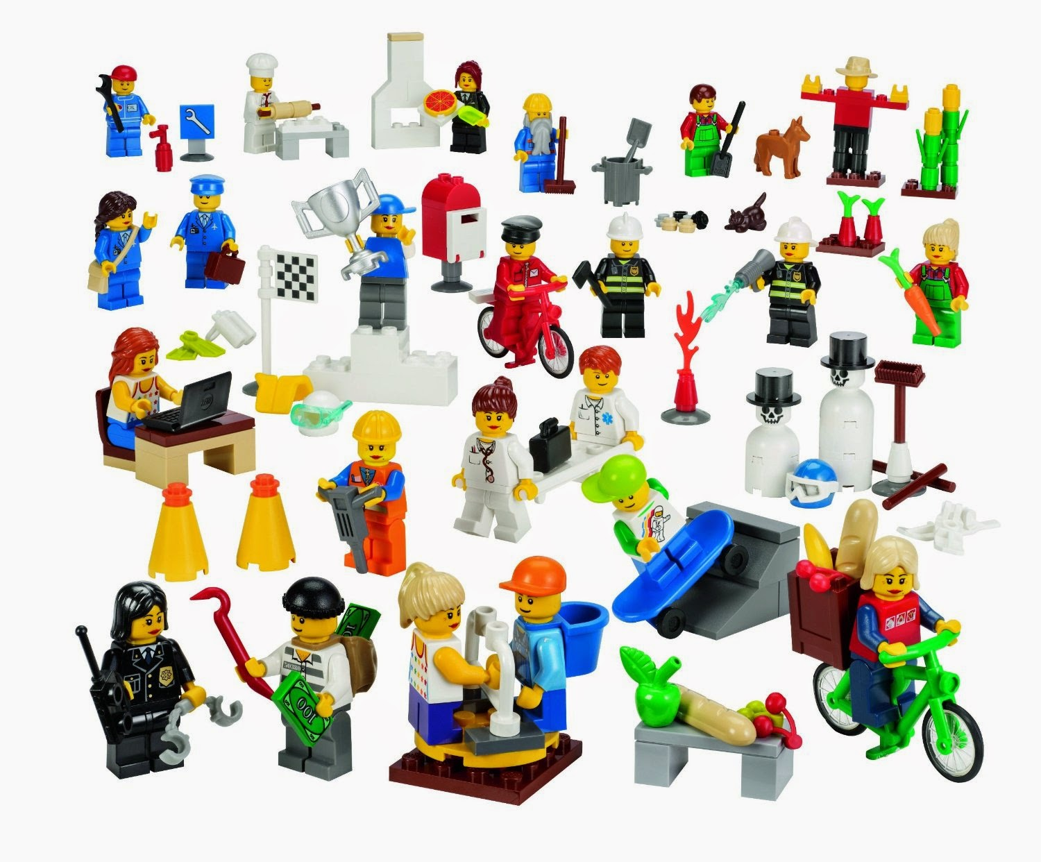 Lego Action Figures Set