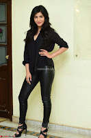 Shruti Haasan Looks Stunning trendy cool in Black relaxed Shirt and Tight Leather Pants ~ .com Exclusive Pics 037.jpg