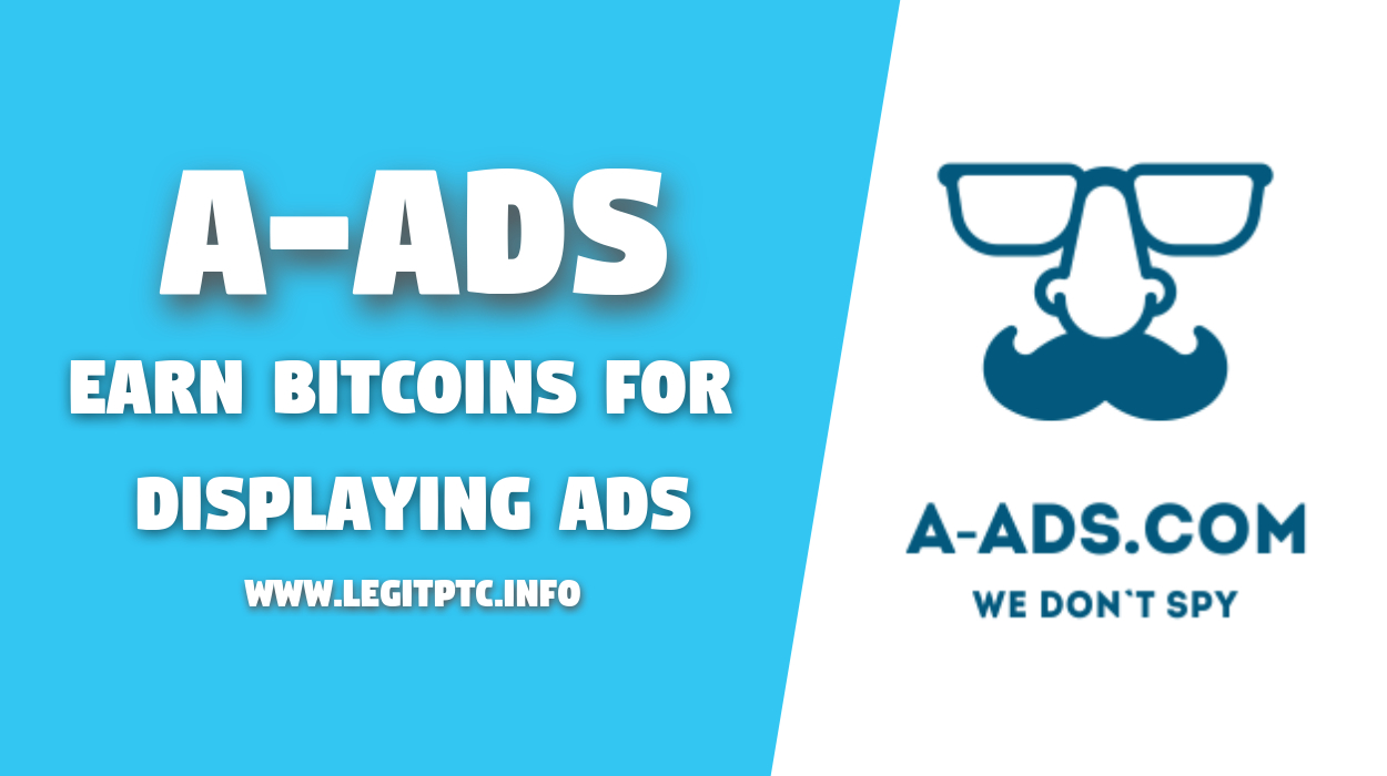 Anonymous ads - get bitcoins for displaying ads | Legit PTC