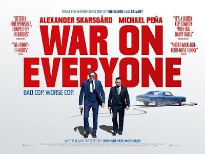 War on Everyone - Poster & Trailer
