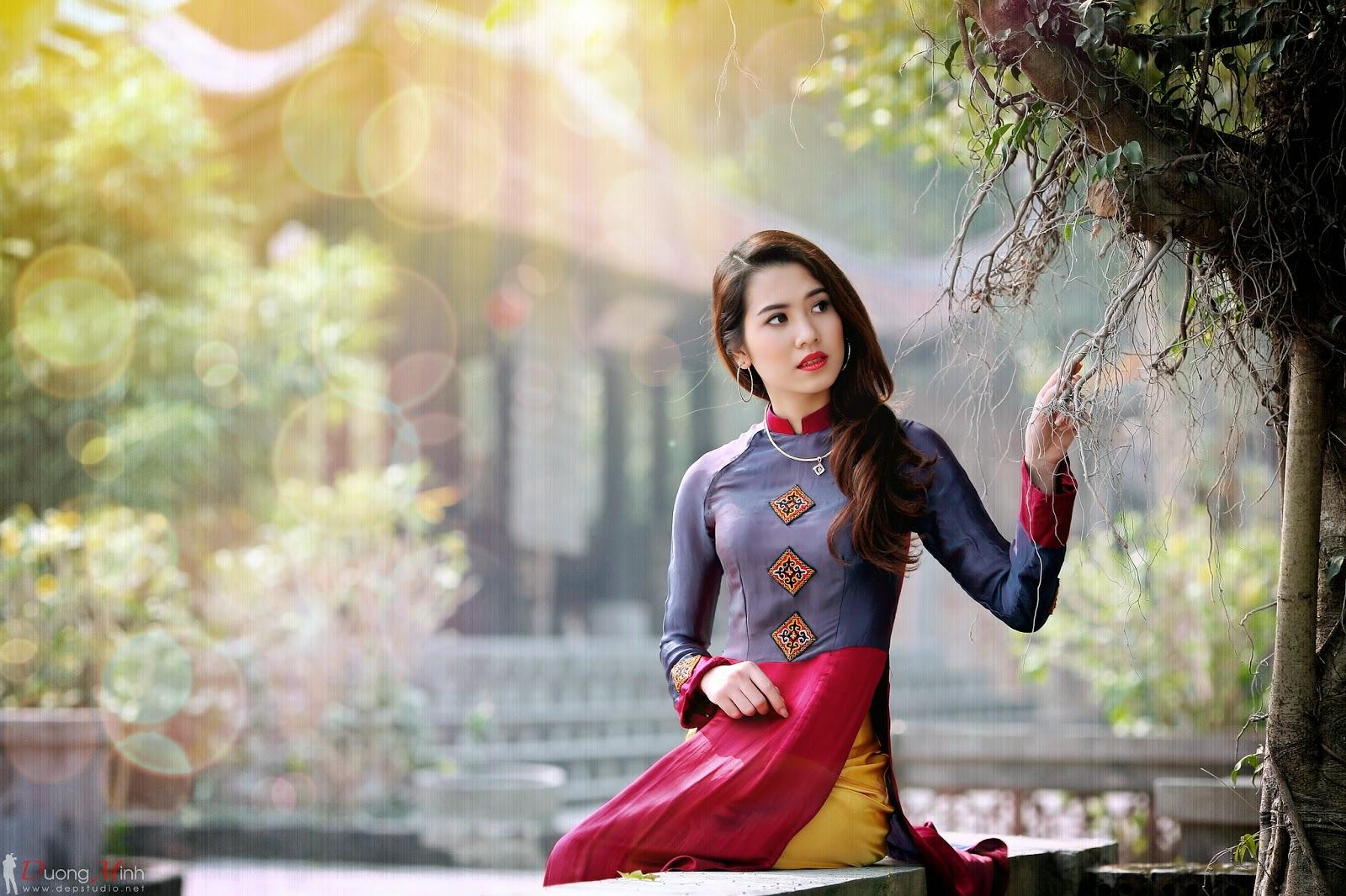 Ảnh đẹp girl xinh Áo dài truyền thống Việt Nam - Ảnh 26