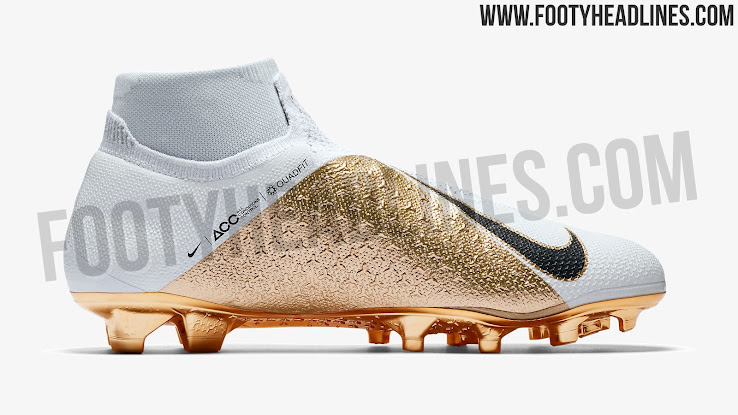 Nike will bring out a white and gold Nike Phantom VSN football boot limited  to 1 c58e572e2e4