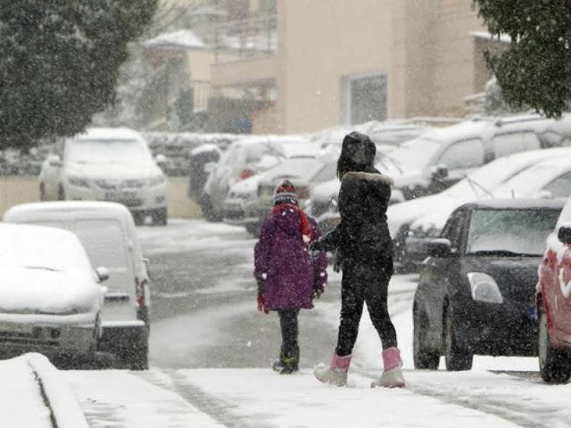 Ποια Είναι Η Ελληνική Πόλη Με Θερμαινόμενα Πεζοδρόμια Που Καθαρίζουν Μόνα Τους Από Το Χιόνι