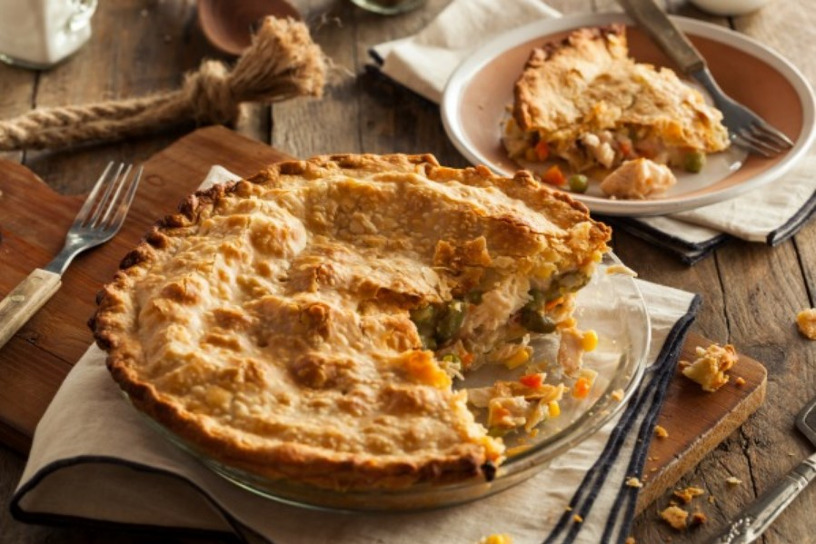 Paleo Chicken Pot Pie #simplerecipe #healthy