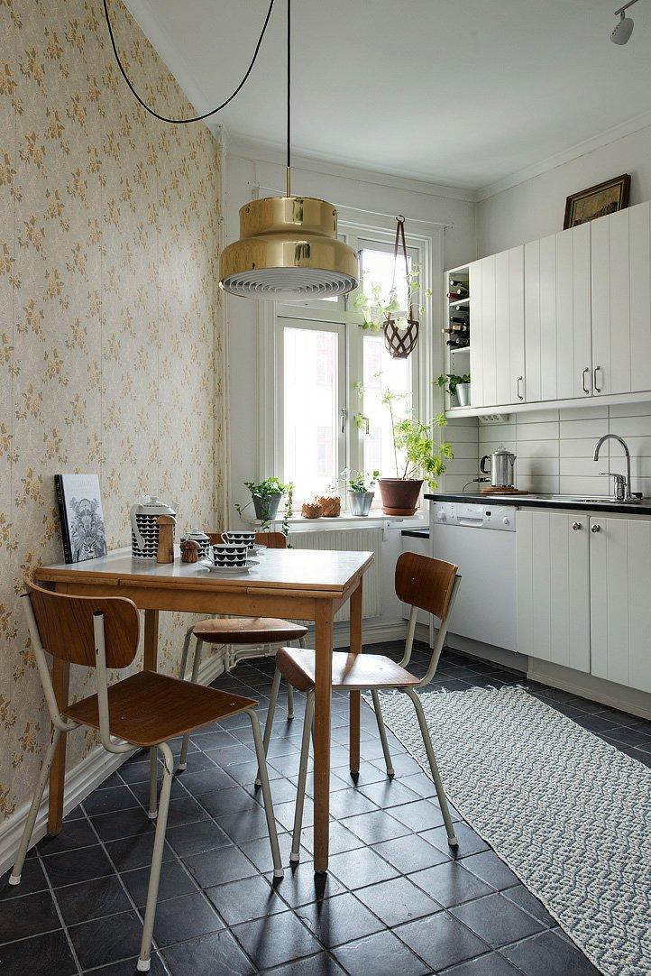 Delightful Swedish Apartment With Charming Decor