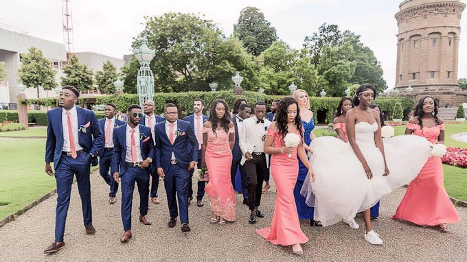 VIDEO: See the lavish Ghanaian wedding that aired on German national TV