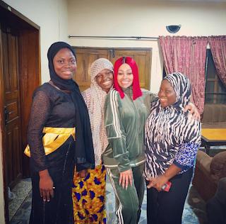 Blac Chyna visit to Lagos