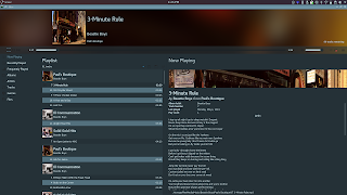 Elisa Music Player now shows embedded song lyrics and has clickable artist / album links