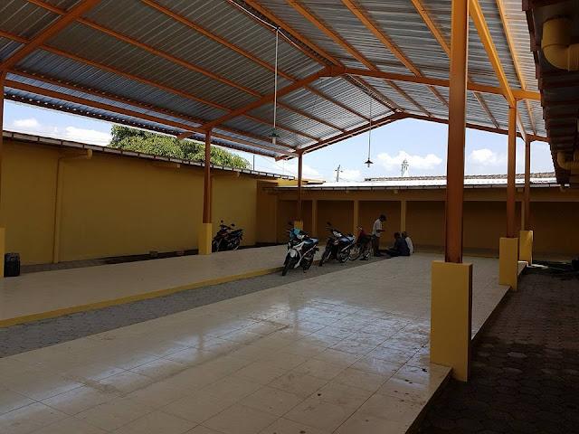 Bangunan pasar manggung Boyolali,jasa konstruksi baja,pemborong baja