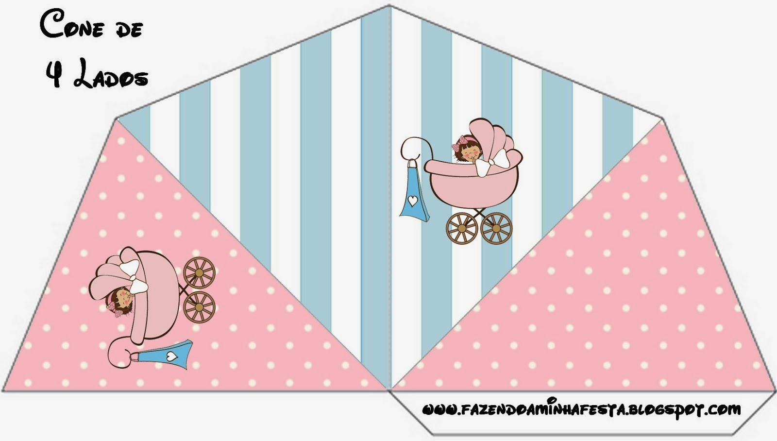 Baby Girl Free Party Printables Oh My Fiesta in english