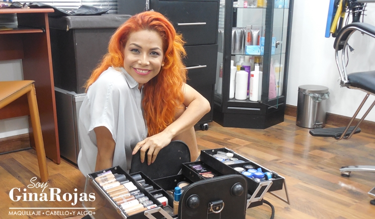 10  imprescindibles en la maleta de maquillaje de Gina Rojas