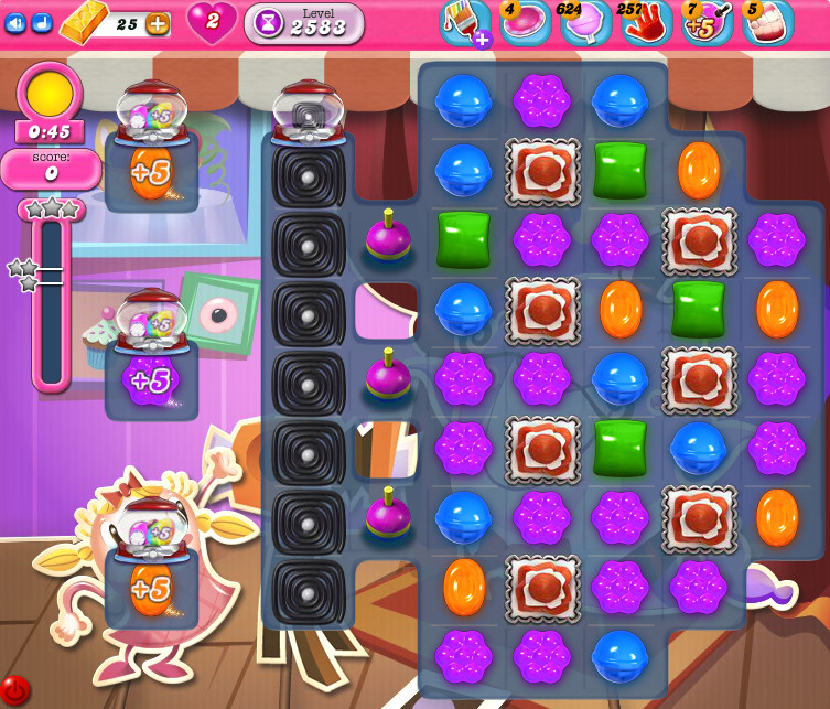 Candy Crush Saga level 2583