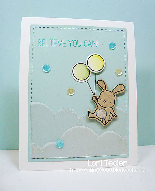 Believe You Can-designed by Lori Tecler/Inking Aloud-stamps and dies from Mama Elephant