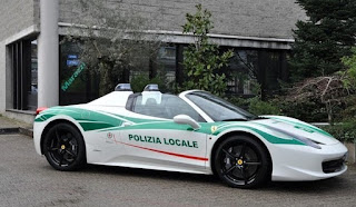 Ferrari 458 Spider Cop Car