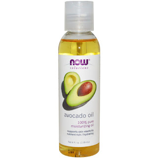 زيت الافوكادو الطبيعي Now Foods, Solutions, Avocado Oil, 4 fl oz (118 ml)