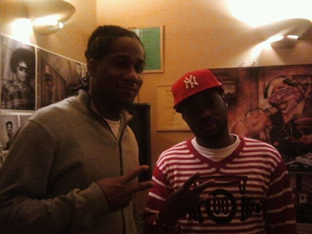 Young Franchise Nyche and manager K-Stacks  8c36f6334