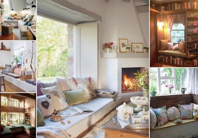 50+ DIY Χτιστοί-σταθεροί καναπέδες