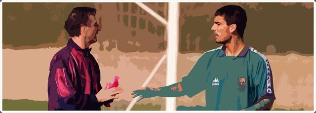 Johan Cryuff Pep Guardiola Barcelona