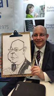 caricaturista en barcelona españa