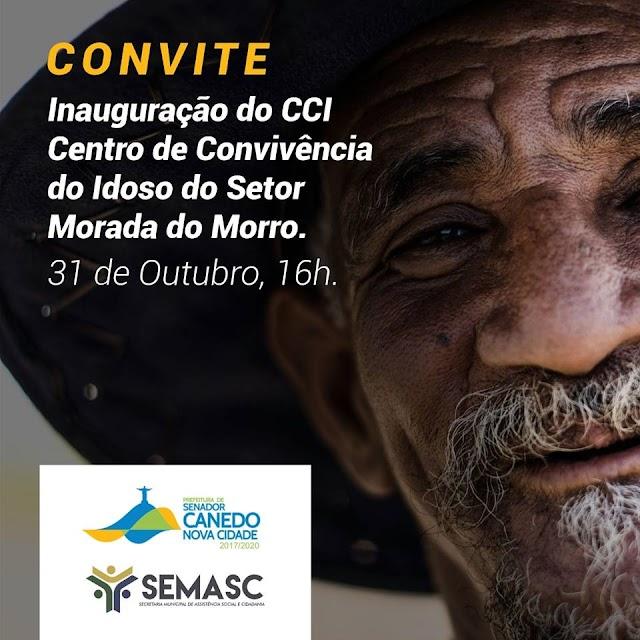 Senador Canedo: Convite para Inauguração do CCI