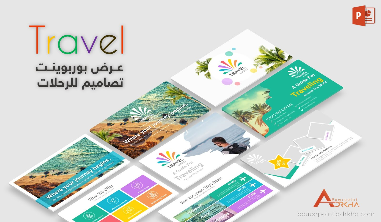 Presentations Powerpoint Travel Tourism
