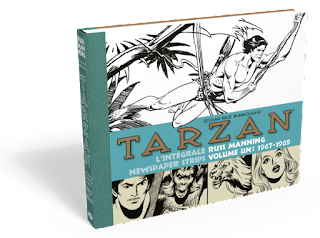 Tarzan : l'intégrale Russ Manning Newspaper strips Volume 1 1967-1969 aux éditions Graph Zeppelin