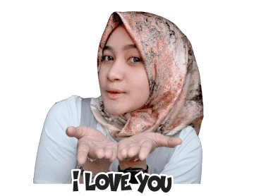 Sticker WhatsApp Hijaber Noor Anisa