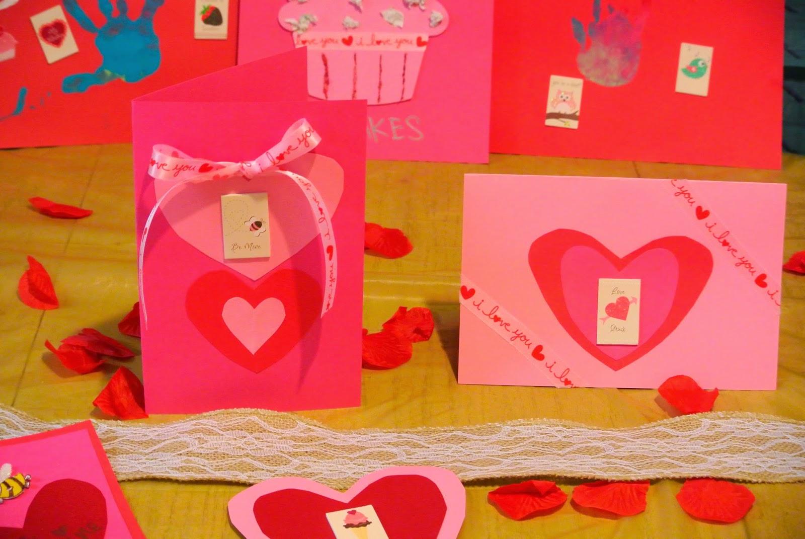 send a card to a friend day crafts - Send A Valentine