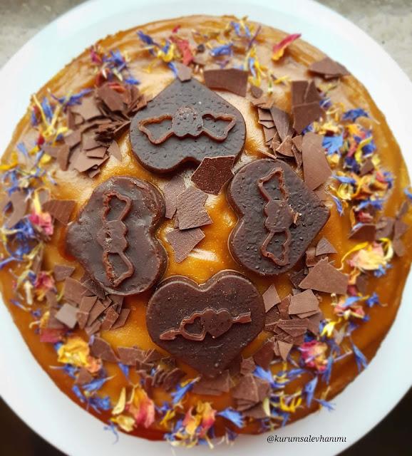 sağlıklı doğumgünü pastası