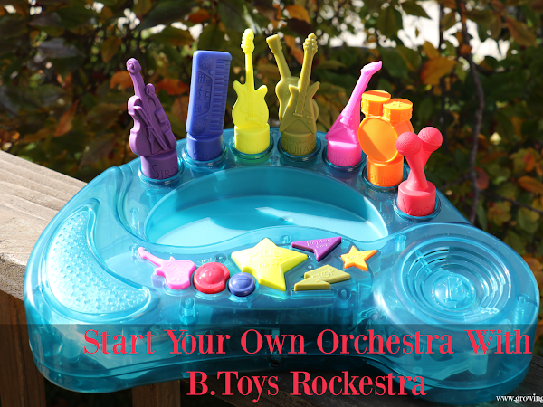 Start Your Own Orchestra With B.Toys Rockestra