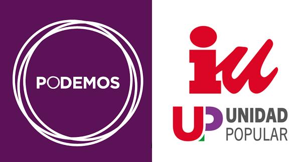 Posible alianza entre Podemos e IU de cara a las próximas elecciones.